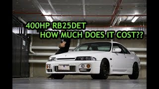 HOW TO MAKE 400HP IN A RB25DET!!