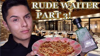 [ASMR] Rude Waiter Role Play Part 3! (Fanciest Tingles!)