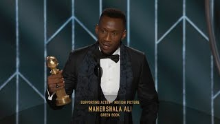 [HD] Mahershala Ali Wins Best Supporting Actor | 2019 Golden Globes