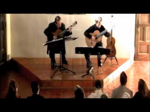 Odeum Guitar Duo - 2-27-11 - John Dowland - My Lord Willoughby is Welcome Home (Balcony View)