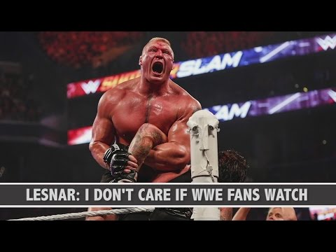 UFC 200 Conference Call: Brock Lesnar doesn't care if WWE fans watch