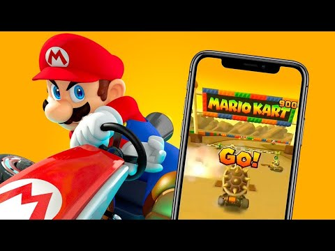 MARIO KART TOUR (MOBILE) - Gameplay & Découverte [HD / FR]