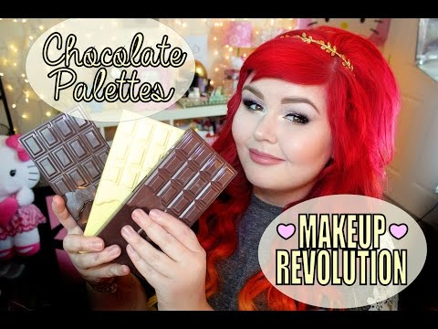 Makeup Revolution Chocolate Palettes | Review and Swatches