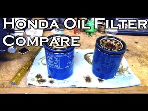 Honda Oil Filter Comparison: 15400-PLM-A01 and 15400-PLM-A02