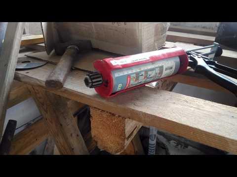 Использование химклея при монтаже крепления кабеля ввода в дом СИП