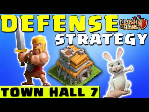 Clash of Clans - DEFENSE STRATEGY - Townhall Level 7 (CoC TH7 Defensive Strategies)