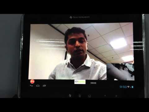 Skype HD video conferencing  on OMAP4 and Android ICS