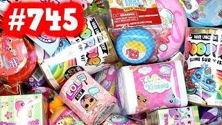 Random Blind Bag Box #745 - Squeezamals, Barbie Sweet Orchard Farm, Smooshy Mushy, Hatchimals