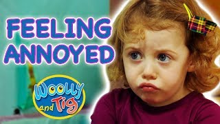 Woolly and Tig - Feeling Annoyed | Kids TV Show | Full Episode | Toy Spider