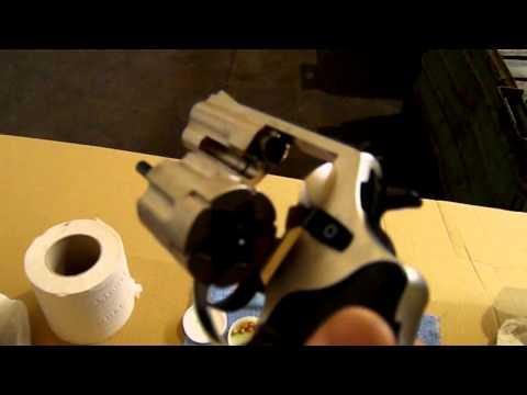 Zoraki R1 K10 rubber bullets revolver- czyszczenie / cleaning