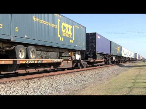 [HD] CSX Train Q026 at Folkston, GA