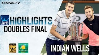 Highlights: Isner, Sock Lift Indian Wells Doubles Title 2018