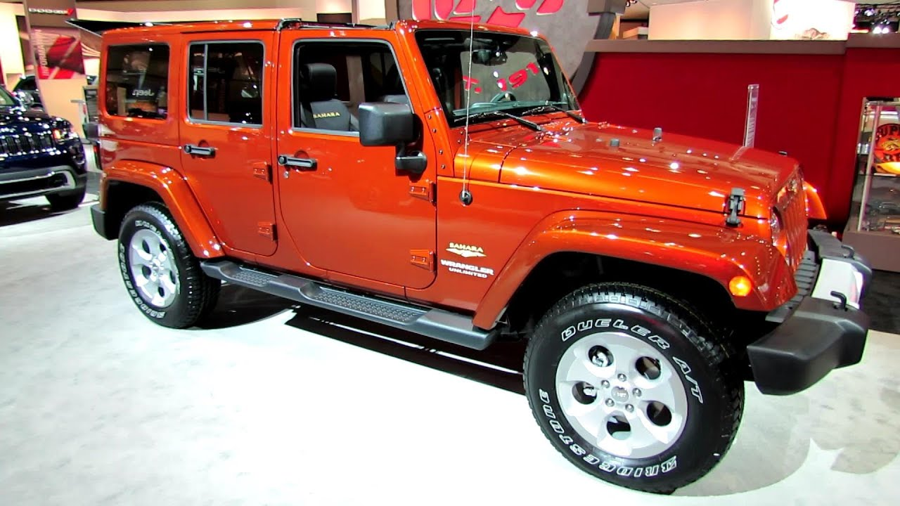 2014 Jeep Wrangler Unlimited Sahara Exterior And
