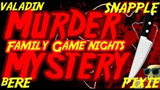 Roblox: Family Game Nights Plays Murder Mystery