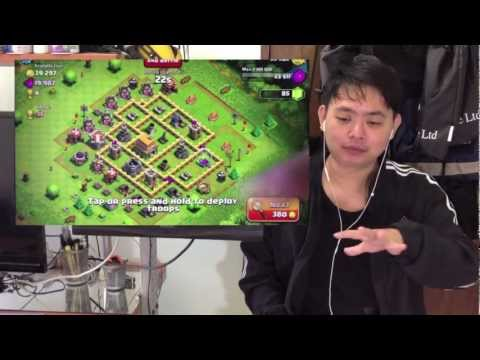Clash of Clans - Part 5 - Attack Strategy with Tips!