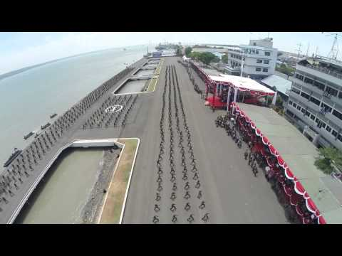 Biggest Military Parade  in ASEAN 2014, 69th Anniversary of TNI ( Indonesian Armed Force) HD