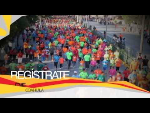 Participa en la Carrera Actívate Coahuila Infantil en Saltillo