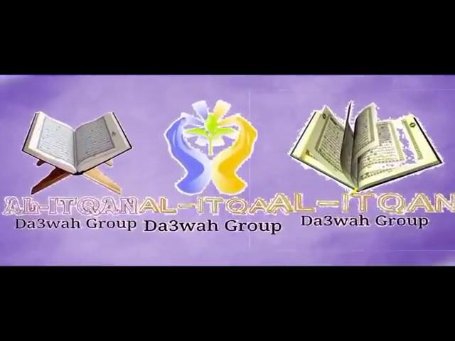 """Al itqan dawa group """" Ammaari fi munzir Lakkuudhaa ?"""