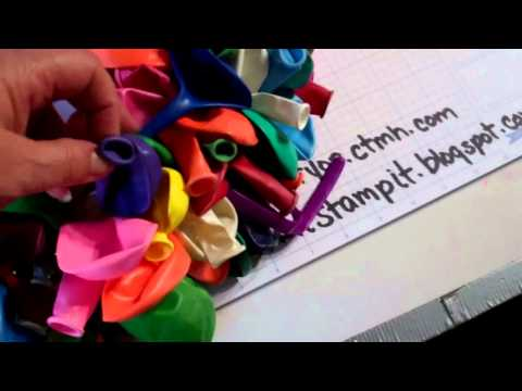 How To Make a Balloon Wreath