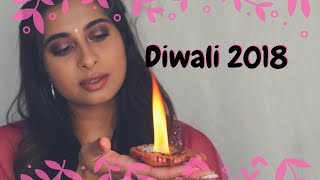 Simple Diwali Makeup look 2018 | Chermel's World