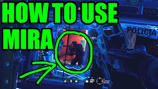 HOW TO USE MIRA - Rainbow Six Siege Funny & Epic Moments