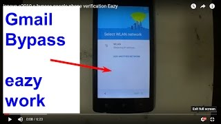 lenovo a2010 a bypass google phone verification Eazy