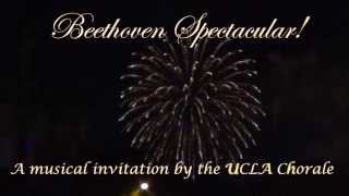 UCLA Choral Activities - Beethoven Spectacular SPARK Project Video