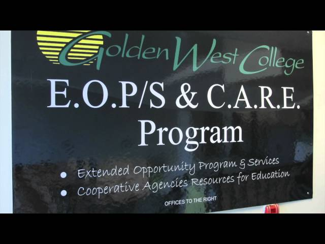 CalWORKS / EOPS - Golden West College
