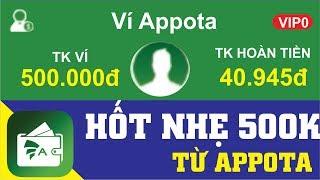 Hốt Nhẹ 500k Từ Appota | Kiếm Tiền Online