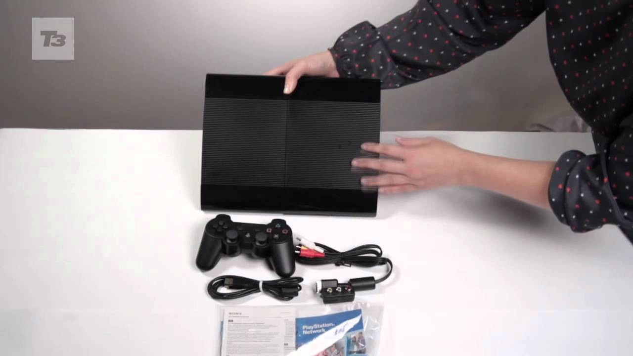 sony ps3 superslim unboxing   youtube