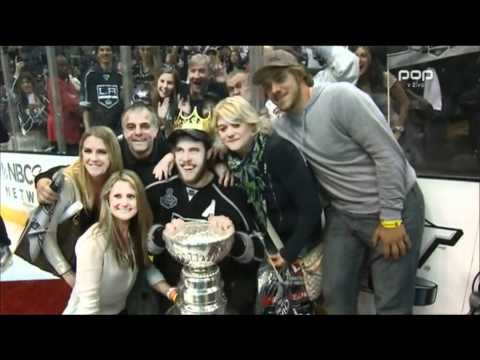 Anze Kopitar on 24ur - After winning the Stanley cup 2012(Slovenia Daily News)