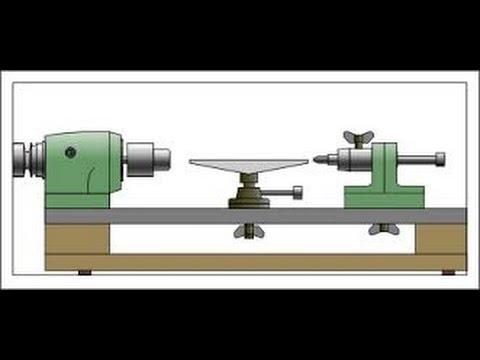 КАК СДЕЛАТЬ ТОКАРНЫЙ СТАНОК ПО ДЕРЕВУ СВОИМИ РУКАМИ. DIY Wood Lathe