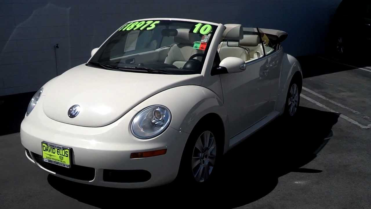 Used 2010 VW Beetle Convertible (For Sale STK#: 244ET) - YouTube