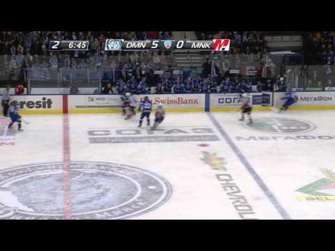 Динамо Мн - Металлург Нк 6:1 / Dinamo Minsk - Metallurg Novokuznetsk 6:1