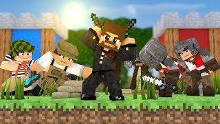 БИТВА ЗАМКОВ В МАЙНКРАФТЕ - ЗАХВАТ ФЛАГА - Minecraft Castles