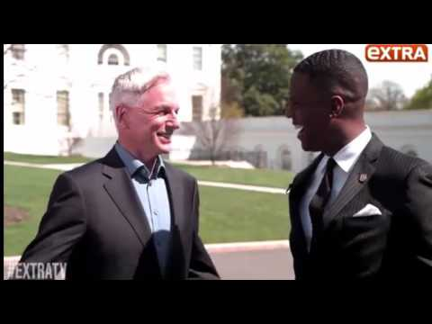 NCIS S13x22: Homefront.  Mark Harmon talking about Michelle Obama