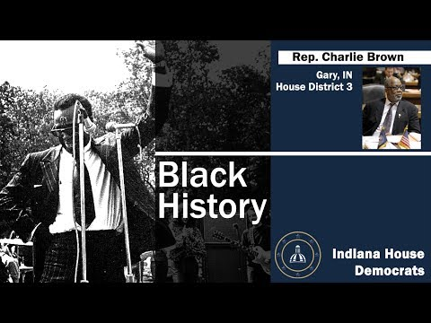 Black History: Rep. Charlie Brown on Gary's first mayor, Richard Hatcher