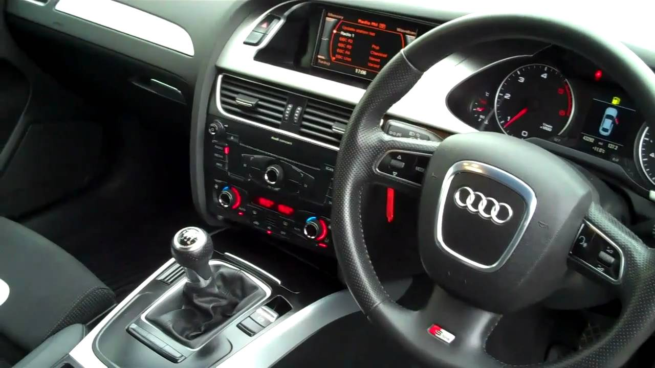 2009 Audi A4 2 0tdi 143 S Line 4dr 163 19 995 Youtube