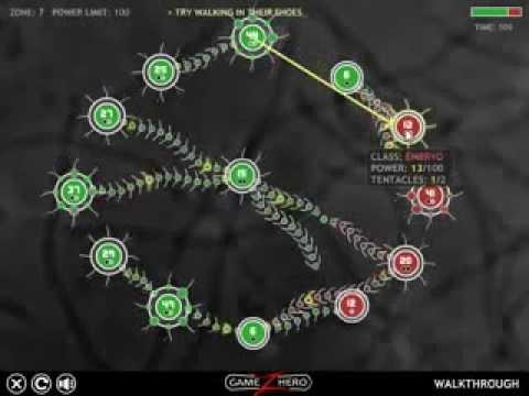 Tentacle Wars. Walkthrough 1-11