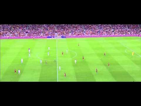 Thomas Vermaelen vs Málaga CF · La Liga 15/16 Home · HD