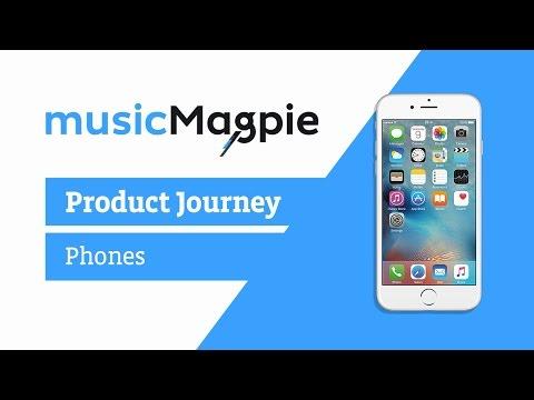 Phone Journey Through musicMagpie
