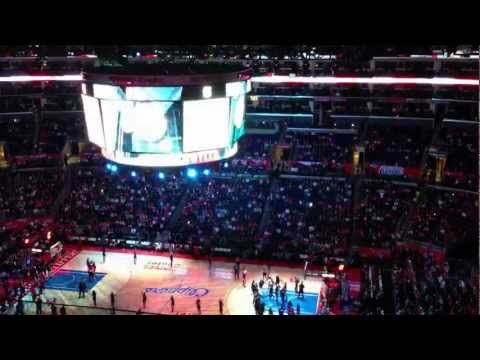Los Angeles Clippers intro 1-20-2013 HD