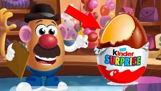 Mrs Potato Head Game/kids song,ChiChin ToysReview TV, Learn colors