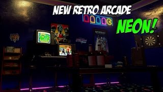 New Retro Arcade Neon VR (Gameplay)