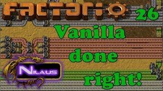 Factorio - Vanilla done right - E26 - Designing the Main Train station