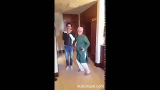 Om puri dancing on actor in law's title song