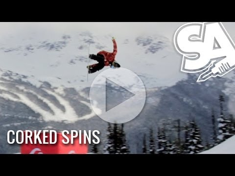 Learn how to spin corked frontside and backside - Snowboard Addiction