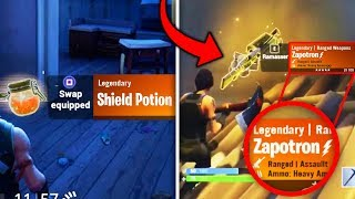 Top 5 Fortnite Items THAT GOT DELETED! (Old Fortnite Guns, Potions & More)