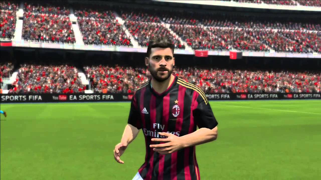 Fifa 14 a c milan player overalls and faces ps3 youtube for Fifa 17 milan