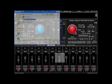Virtual DJ Tutorial - Effects, Loops, Samples (part 2-A)